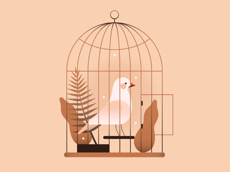 Compare Sympathy and Caged Bird